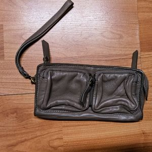 BCBGMaxAzria Leather Wristlet/wallet